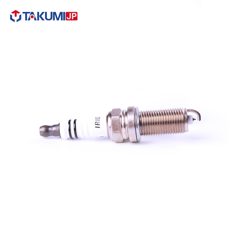 Single Tip Motorcycle Spark Plugs , Copper Core Racing Spark Plugs For Motorcycle